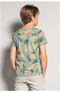 T-Shirt T-Shirt FRESH Garçon S20156B (51791) - DEELUXE