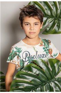 T-Shirt T-Shirt FRESH Garçon S20156B (51793) - DEELUXE