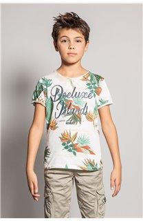 T-Shirt T-Shirt FRESH Garçon S20156B (51795) - DEELUXE