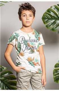 T-Shirt T-Shirt FRESH Garçon S20156B (51797) - DEELUXE
