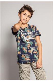 T-Shirt T-Shirt FRESH Garçon S20156B (51798) - DEELUXE