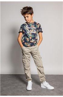 T-Shirt T-Shirt FRESH Garçon S20156B (51799) - DEELUXE