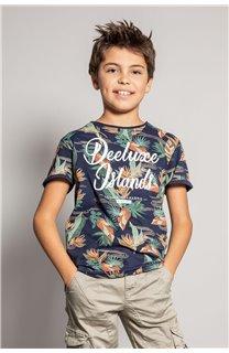 T-Shirt T-Shirt FRESH Garçon S20156B (51800) - DEELUXE