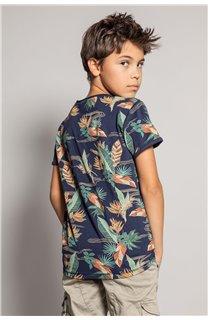T-Shirt T-Shirt FRESH Garçon S20156B (51801) - DEELUXE