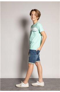 T-Shirt REBORN Garçon S20155B (51834) - DEELUXE