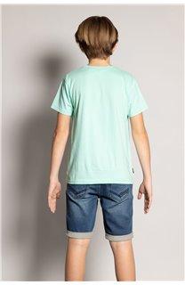 T-Shirt REBORN Garçon S20155B (51836) - DEELUXE