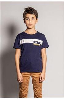 T-Shirt REBORN Garçon S20155B (51840) - DEELUXE