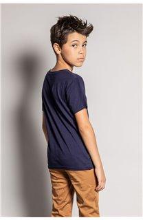 T-Shirt REBORN Garçon S20155B (51841) - DEELUXE