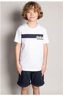 T-Shirt REBORN Garçon S20155B (51843) - DEELUXE