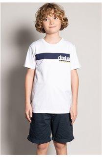 T-Shirt REBORN Garçon S20155B (51845) - DEELUXE