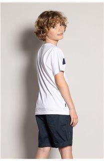 T-Shirt REBORN Garçon S20155B (51846) - DEELUXE