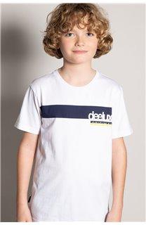 T-Shirt REBORN Garçon S20155B (51847) - DEELUXE