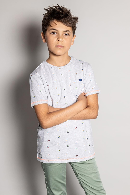 T-Shirt T-Shirt SUNSHADE Garçon S20153B (51874) - DEELUXE