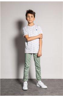 T-Shirt T-Shirt SUNSHADE Garçon S20153B (51875) - DEELUXE