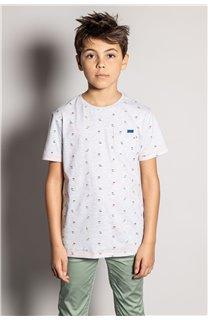 T-Shirt T-Shirt SUNSHADE Garçon S20153B (51876) - DEELUXE