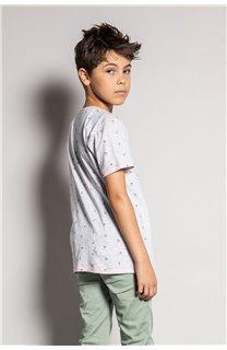 T-Shirt T-Shirt SUNSHADE Garçon S20153B (51877) - DEELUXE