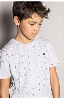 T-Shirt T-Shirt SUNSHADE Garçon S20153B (51878) - DEELUXE
