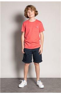 T-Shirt T-Shirt SUNSHADE Garçon S20153B (51880) - DEELUXE