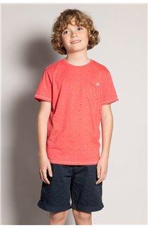 T-Shirt T-Shirt SUNSHADE Garçon S20153B (51881) - DEELUXE