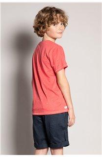 T-Shirt T-Shirt SUNSHADE Garçon S20153B (51882) - DEELUXE
