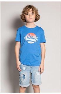 T-Shirt T-Shirt TRIBU Garçon S20193B (51885) - DEELUXE