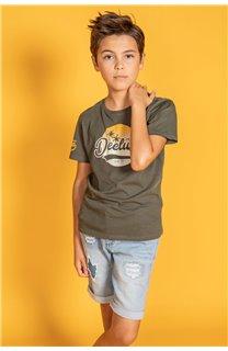 T-Shirt T-Shirt TRIBU Garçon S20193B (51888) - DEELUXE