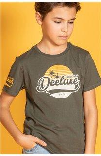 T-Shirt T-Shirt TRIBU Garçon S20193B (51892) - DEELUXE