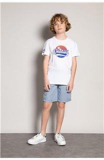T-Shirt T-Shirt TRIBU Garçon S20193B (51893) - DEELUXE
