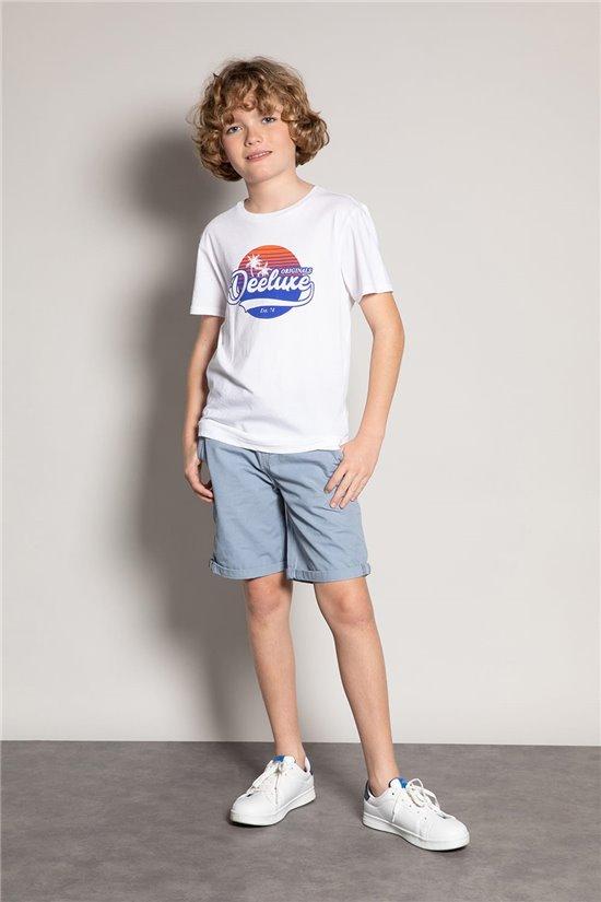 T-Shirt T-Shirt TRIBU Garçon S20193B (51883) - DEELUXE