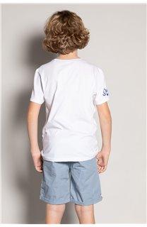 T-Shirt T-Shirt TRIBU Garçon S20193B (51896) - DEELUXE