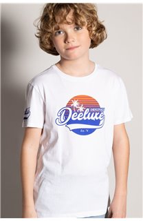 T-Shirt T-Shirt TRIBU Garçon S20193B (51897) - DEELUXE