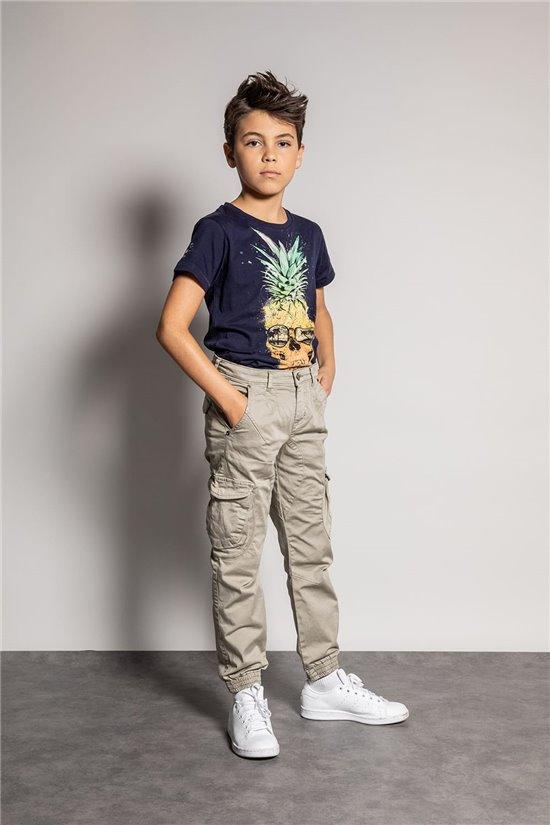 Pantalon PANTALON GARDEN Garçon S207017B (52003) - DEELUXE