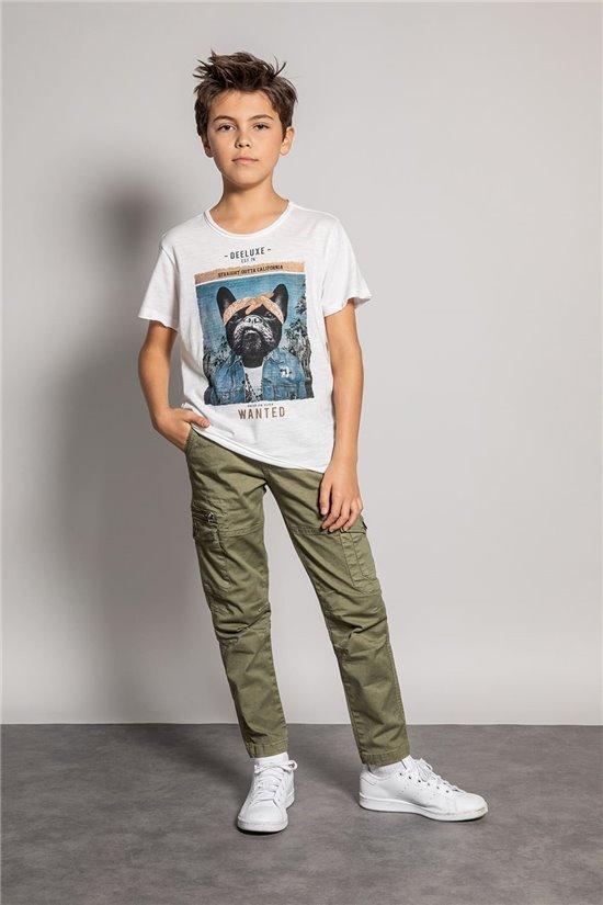 T-Shirt T-SHIRT BANDIDO Garçon S20190B (52079) - DEELUXE