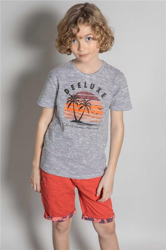 T-Shirt T-Shirt BAKA Garçon S20122B (52180) - DEELUXE