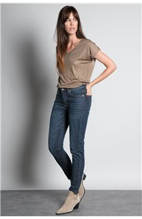 T-Shirt BELI Femme S20108W (52261) - DEELUXE