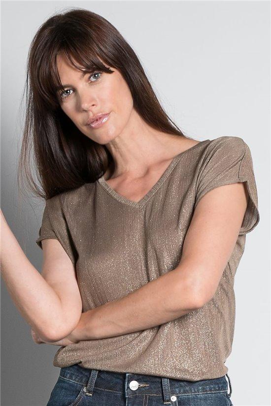 T-Shirt T-SHIRT BELI Femme S20108W (52264) - DEELUXE