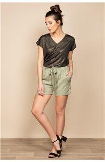 T-Shirt BELI Femme S20108W (52266) - DEELUXE