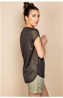T-Shirt BELI Femme S20108W (52268) - DEELUXE