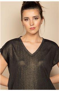 T-Shirt BELI Femme S20108W (52269) - DEELUXE