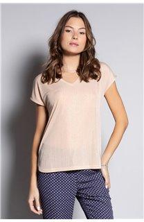 T-Shirt BELI Femme S20108W (52272) - DEELUXE