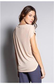 T-Shirt BELI Femme S20108W (52273) - DEELUXE