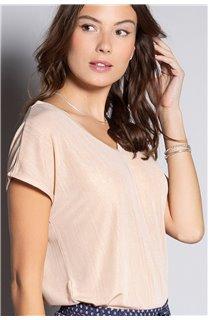 T-Shirt BELI Femme S20108W (52274) - DEELUXE