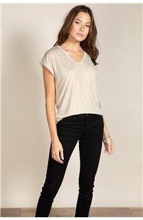 T-Shirt BELI Femme S20108W (52275) - DEELUXE