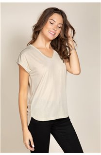 T-Shirt BELI Femme S20108W (52277) - DEELUXE