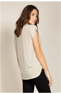 T-Shirt BELI Femme S20108W (52278) - DEELUXE