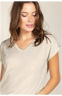 T-Shirt BELI Femme S20108W (52279) - DEELUXE