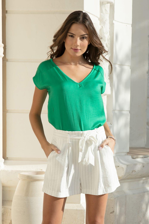 T-Shirt LILI Femme S20129W (52287) - DEELUXE