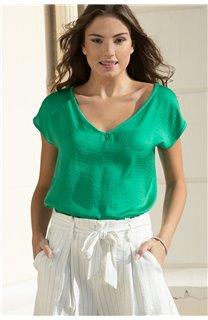 T-Shirt LILI Femme S20129W (52289) - DEELUXE
