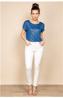 Pantalon PIME Femme S20P721W (52325) - DEELUXE
