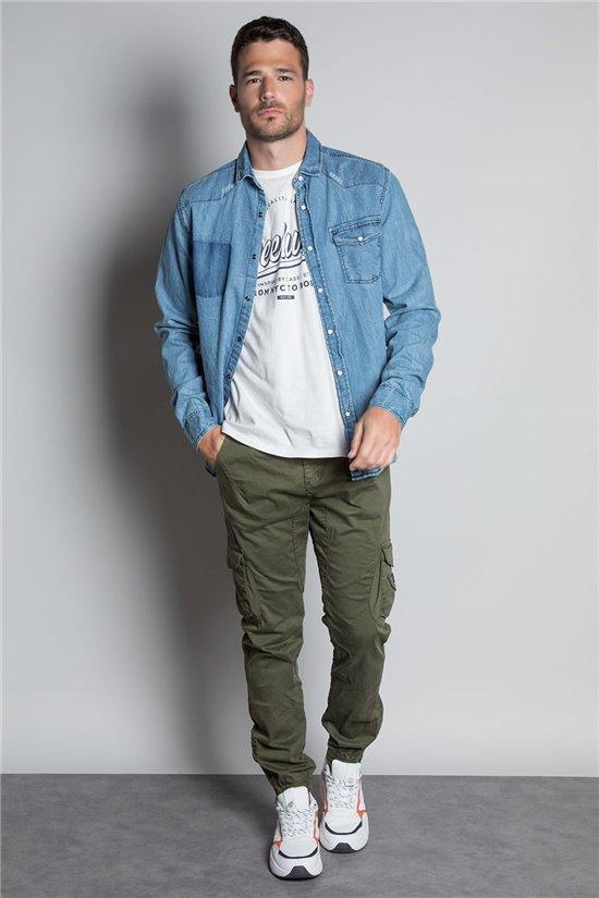 Pantalon PANTALON GARDEN Homme S207017 (52344) - DEELUXE